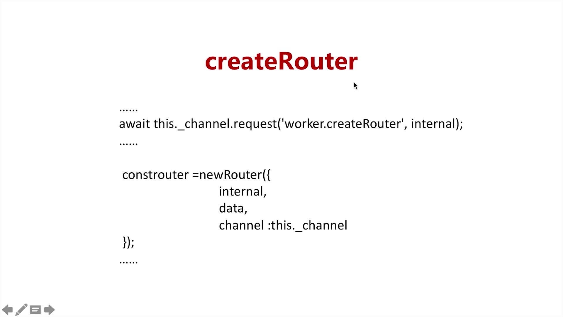 createRouter